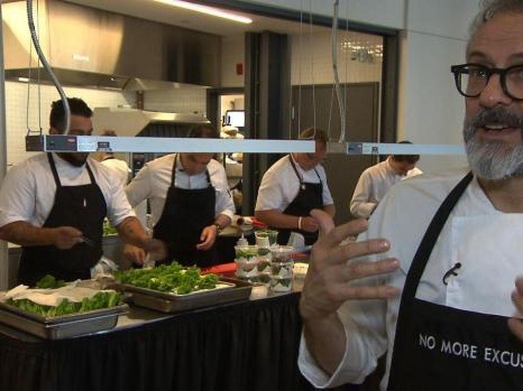 Chef Massimo Bottura akan Buka Dapur Umum di Olimpiade Rio de Janeiro