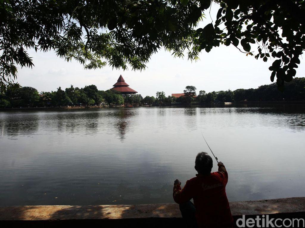Canda Sandiaga di Setu Babakan: Saya Trauma Lihat Danau