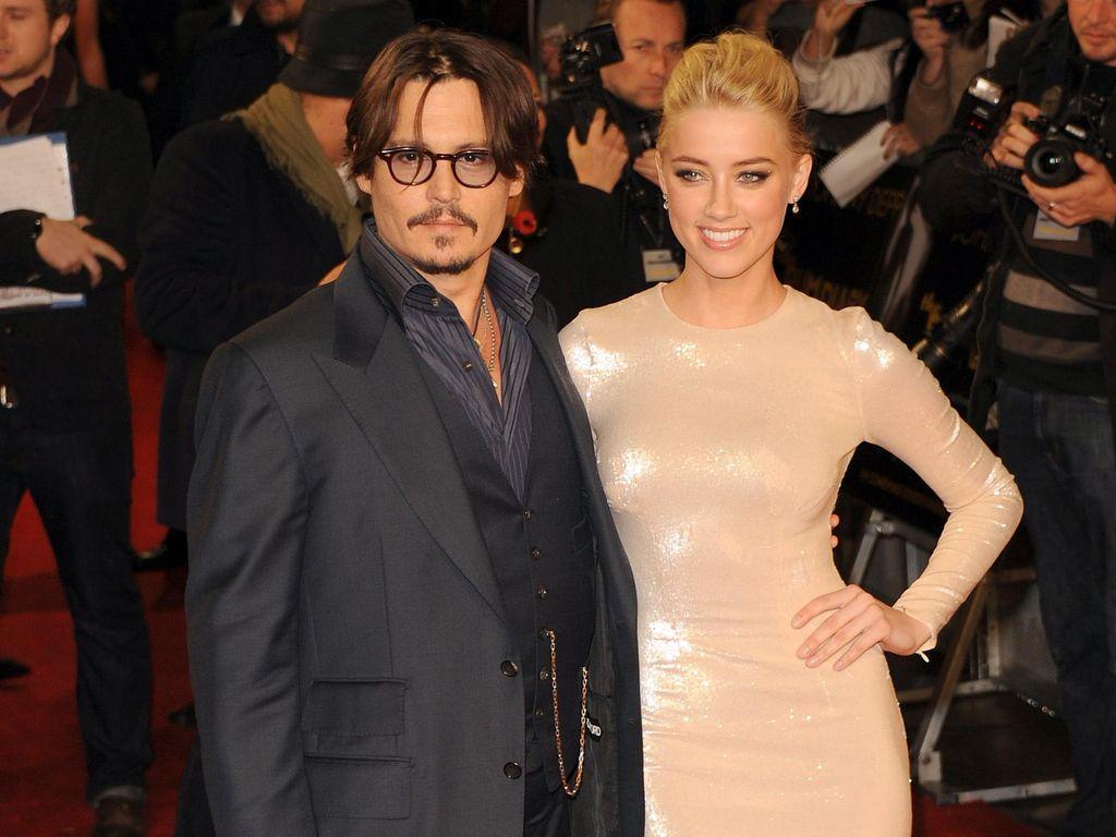 Perjalanan Kisruh Johnny Depp-Amber Heard yang Diwarnai KDRT