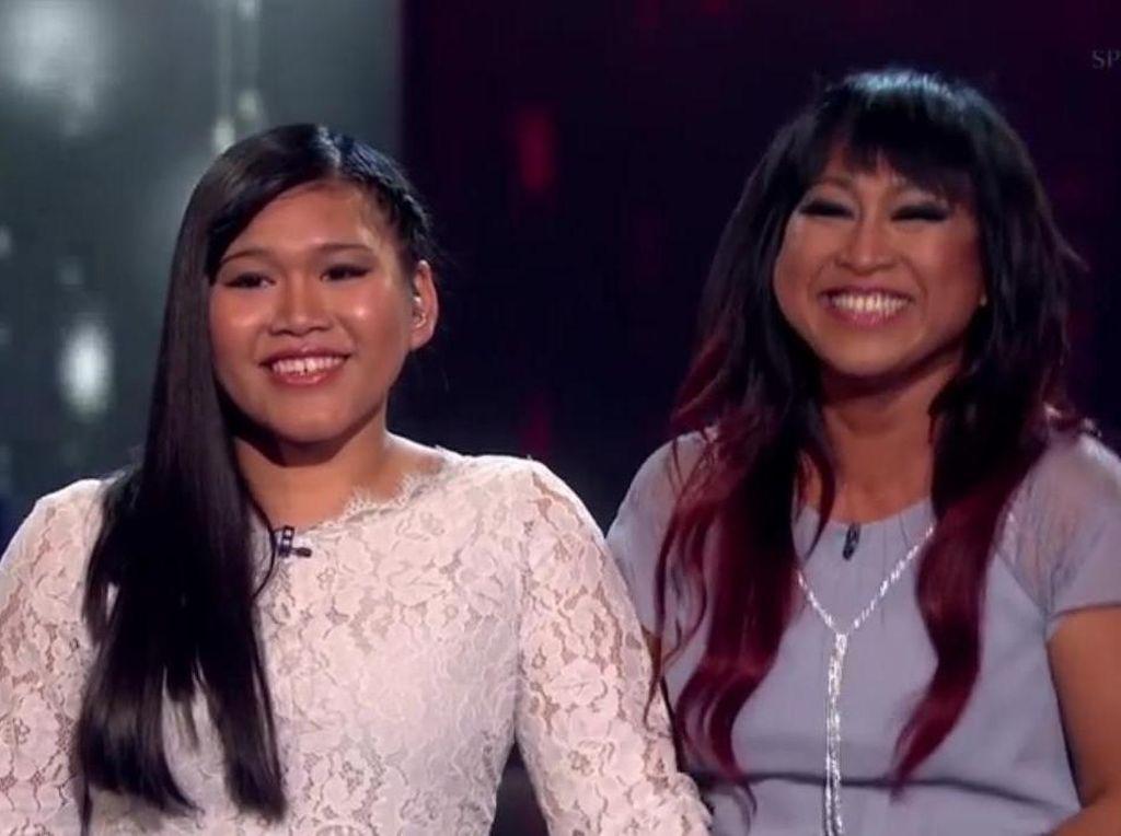 Duet Ibu dan Anak Asal Indonesia Berakhir di Semifinal Britains Got Talent