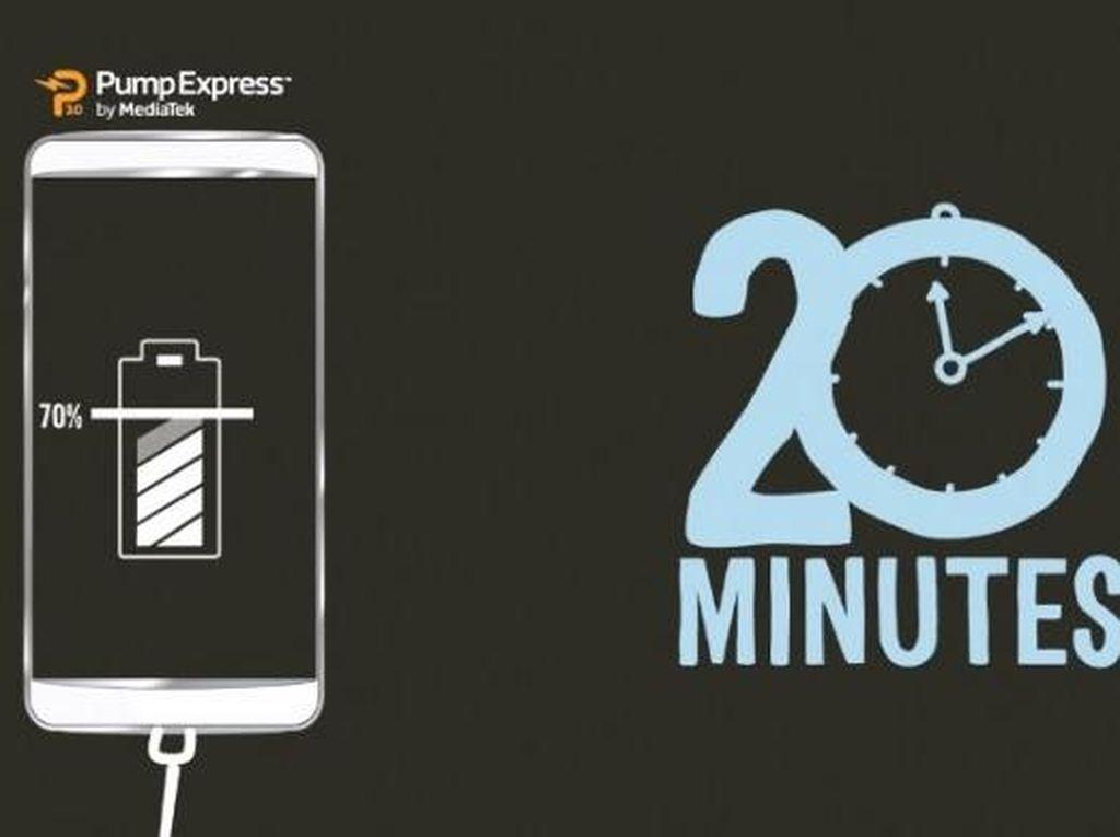 Pump Express 3.0, Charging Kilat ala MediaTek