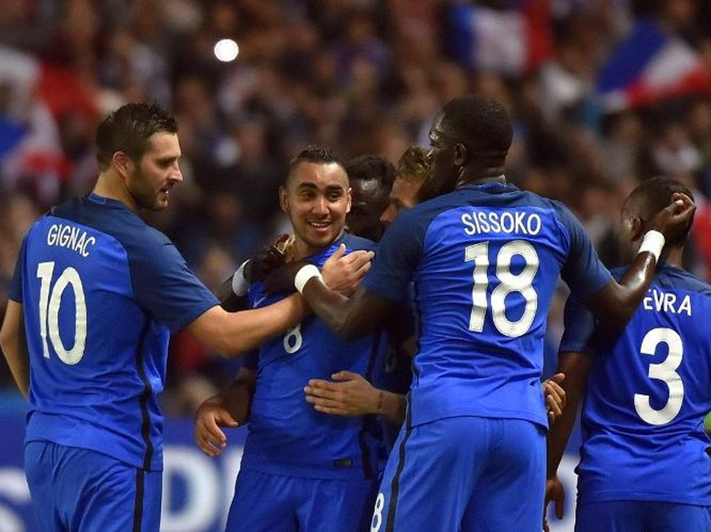Gol Payet di Penghujung Laga Menangkan Prancis atas Kamerun