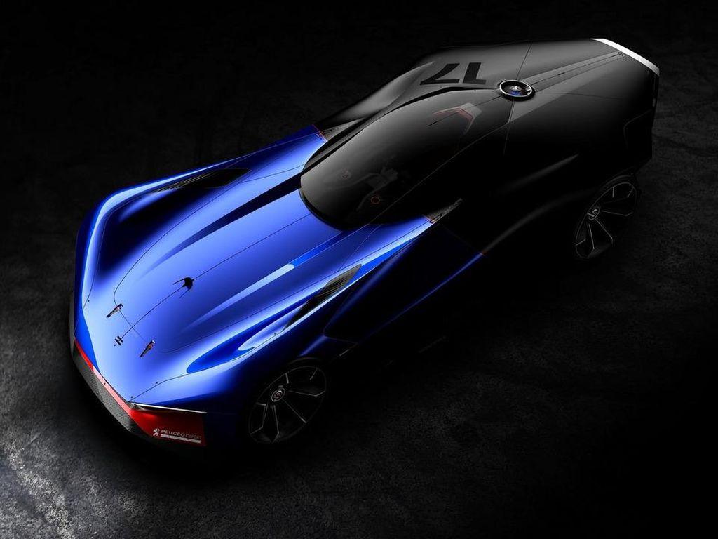 Inikah Desain Mobil Balap Masa Depan Peugeot?