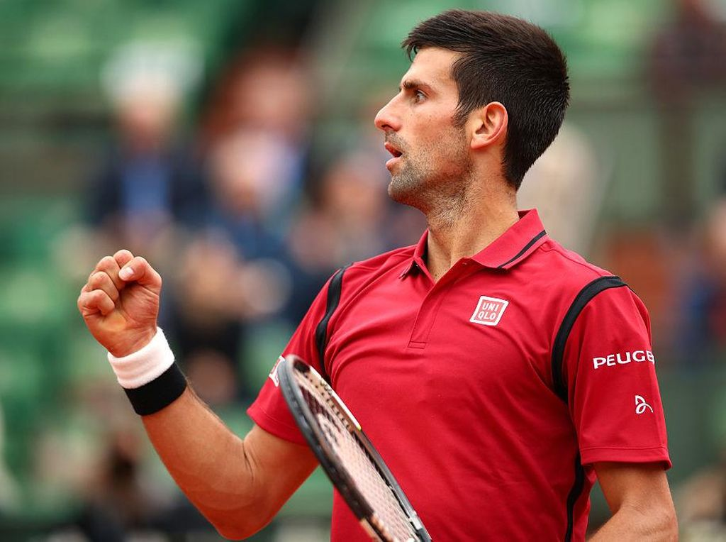 Djokovic Jadi Petenis Pertama di Kelompok 100 Juta Dolar