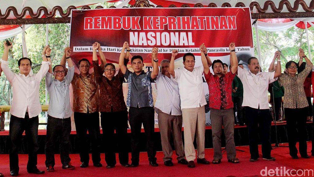 Rembuk Keprihatinan Nasional Peringati Hari Lahir Pancasila