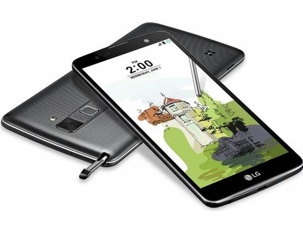 LG Stylus 2 Plus Resmi Melenggang