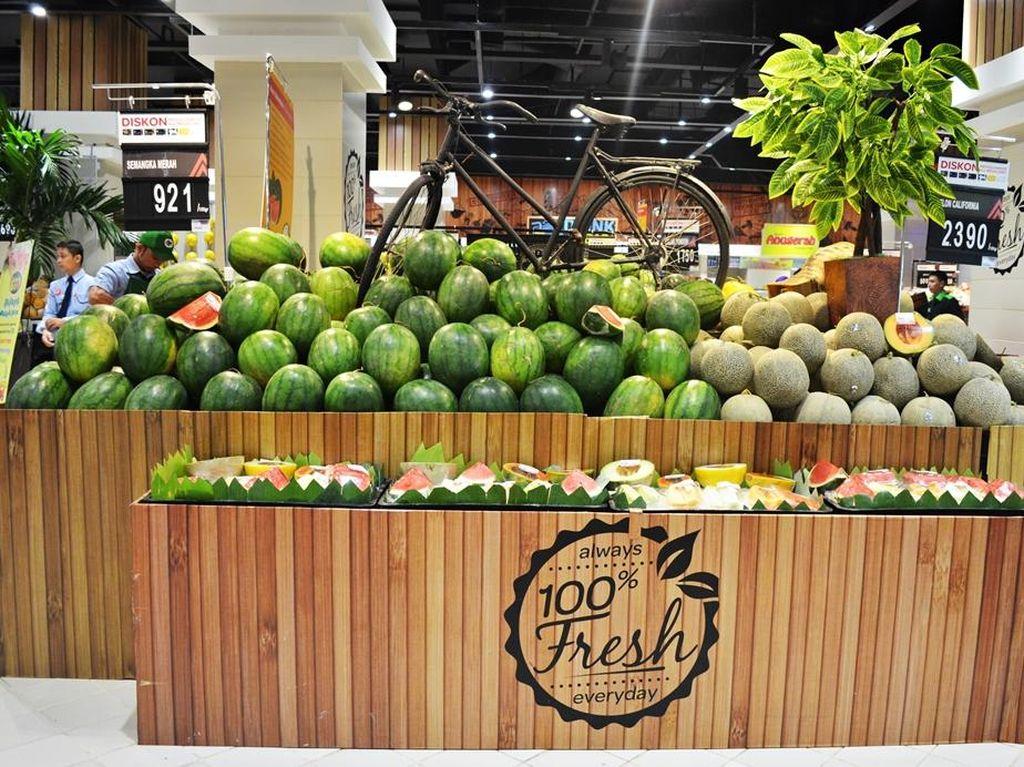 Promo Buah Segar di Transmart Carrefour ITC Kuningan