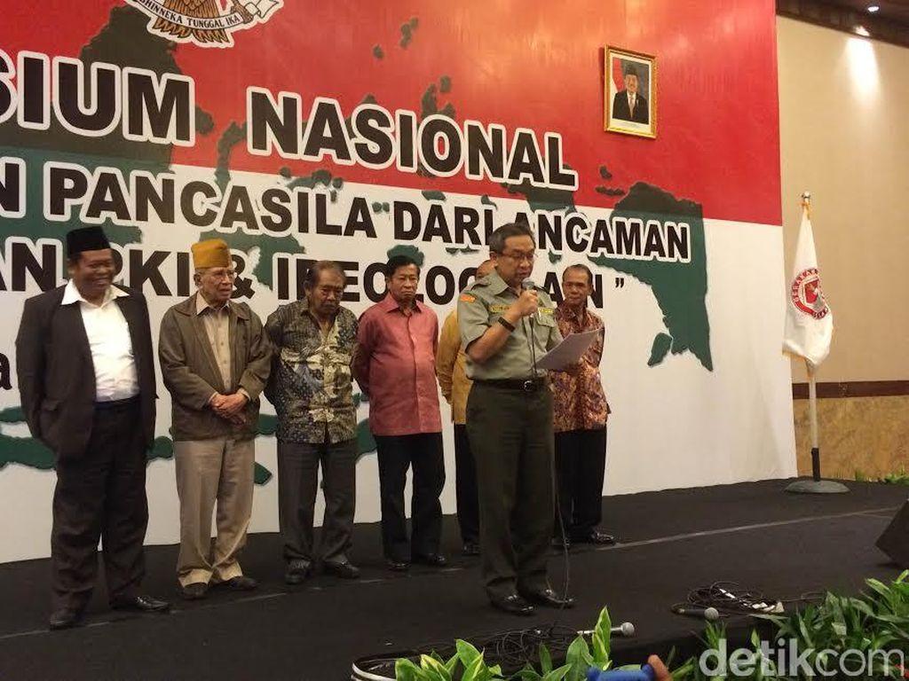 Simposium Waspada PKI: Pemerintah Jangan Minta Maaf ke PKI dan Tak Perlu Rekonsiliasi