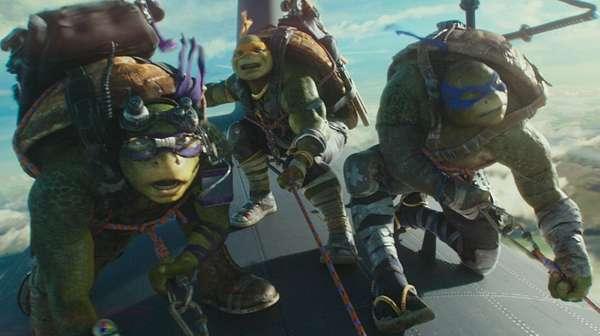 Aksi Para Kura-Kura Ninja di TMNT: Out of the Shadows