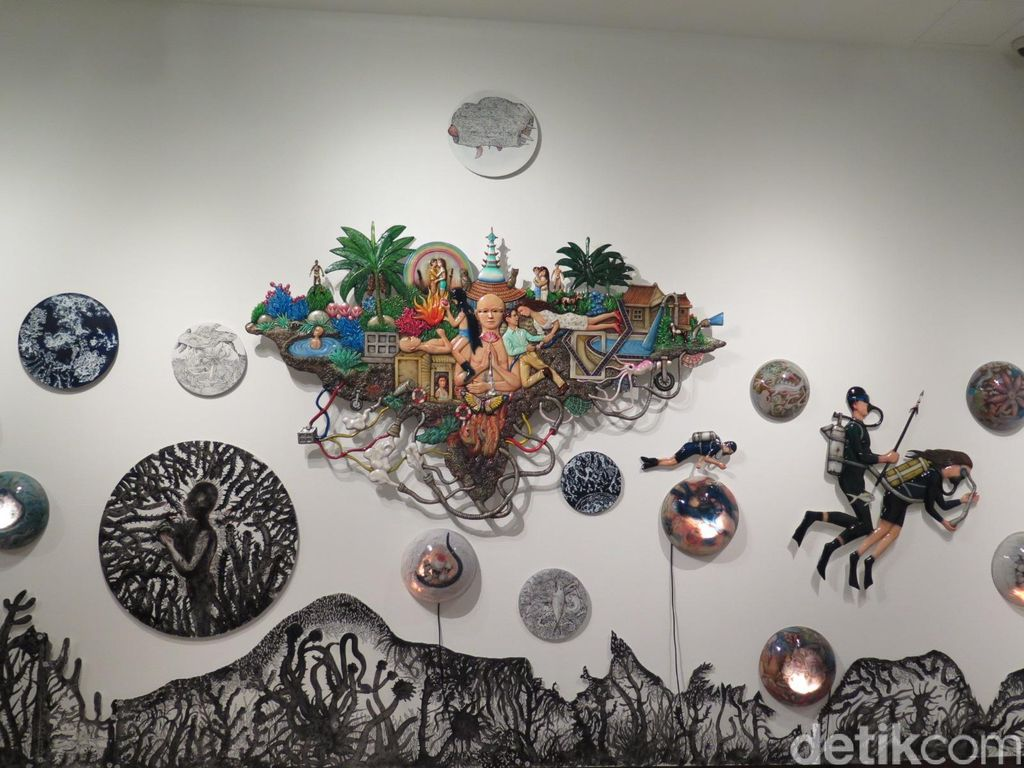 Yuk Intip Karya Seniman Dunia di Oddysey Navigating Nameless Seas