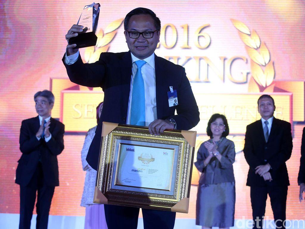 Bank Mandiri Raih Penghargaan Layanan Terbaik