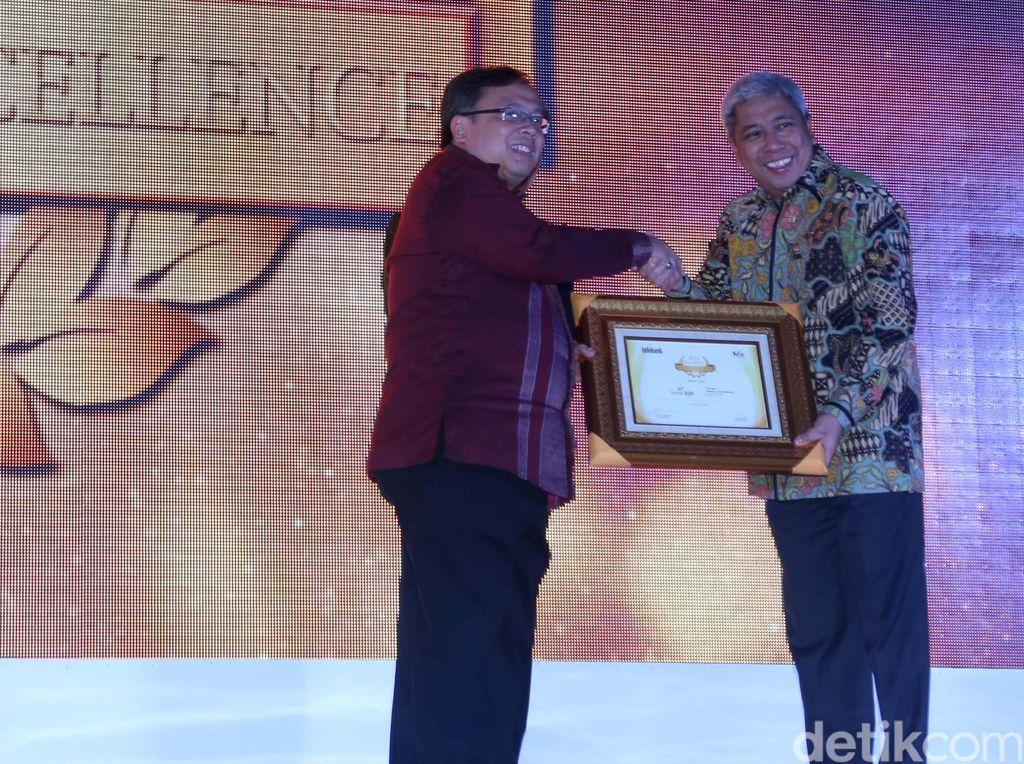 BJB Raih Penghargaan MRI Infobank Institute
