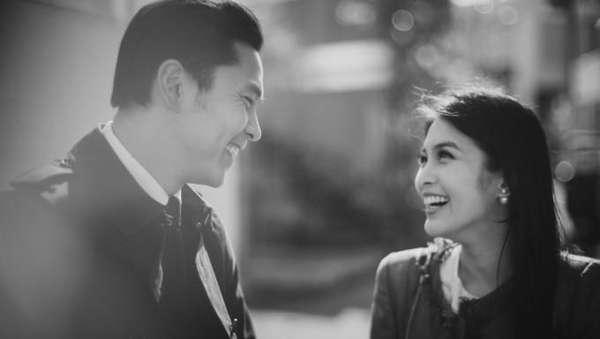 Foto-foto Sandra Dewi dan Calon Suami Pre-wedding di Jepang
