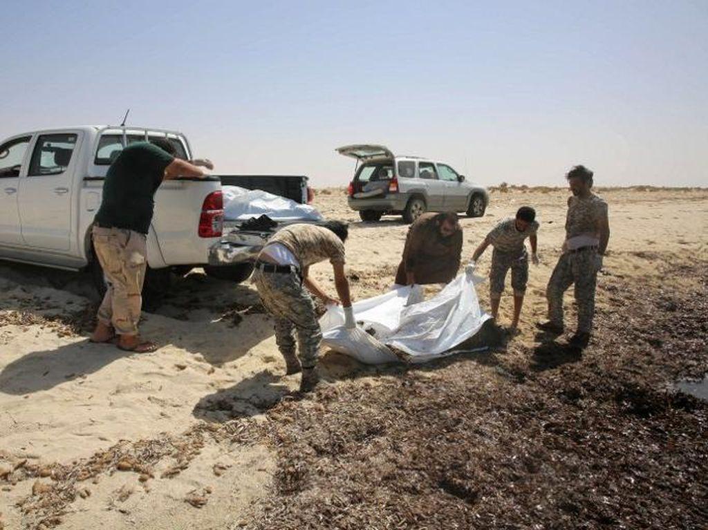 Dalam 4 Hari, 132 Mayat Migran Ditemukan Terdampar di Pantai Libya