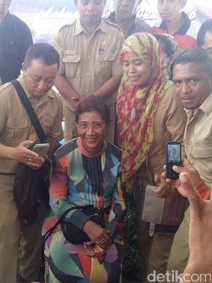 Blusukan ke Labuan Bajo, Menteri Susi Dengarkan Curhat Nelayan
