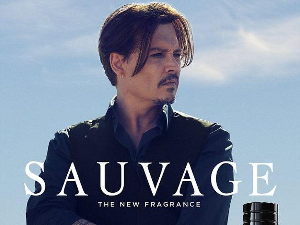 Iklan Parfum Johnny Depp Rilis di Australia, Christian Dior Kena Komplain