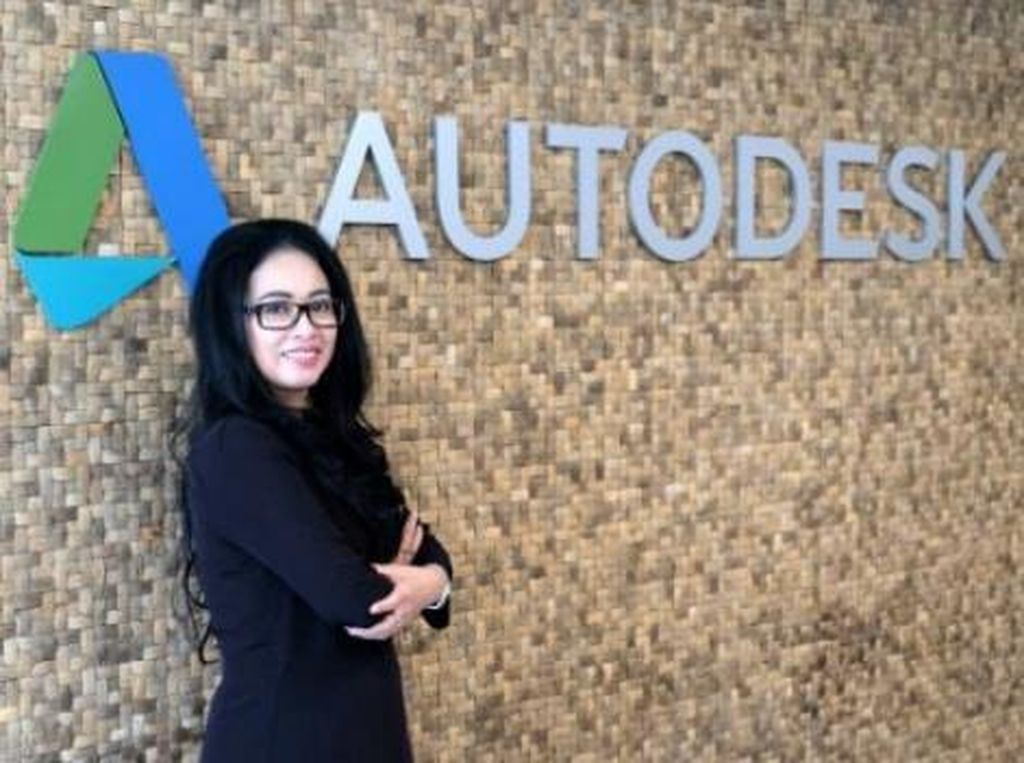 Autodesk Indonesia Dipimpin Nakhoda Wanita