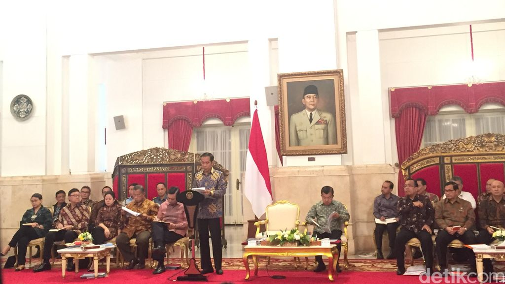 Jokowi Peringatkan 3 Kementerian Ini Soal Lonjakan Harga Pangan Jelang Lebaran