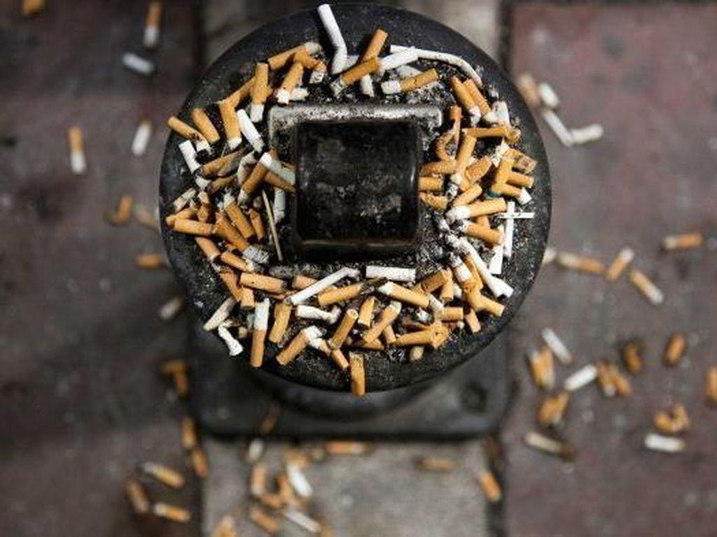 Ilmuwan Australia Temukan Cara Ubah Puntung Rokok Jadi Batu Bata