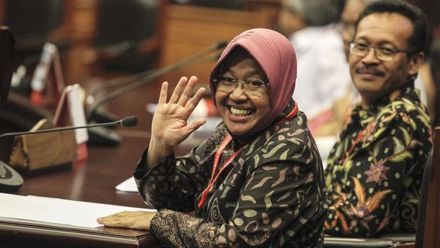 Mendagri Respons Protes Risma soal THR: Apa Surabaya Miskin?
