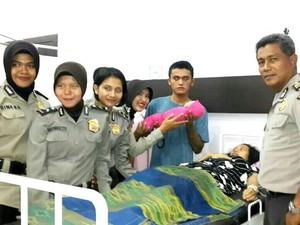 Tahanan di Polres Kampar Melahirkan Bayi Laki-laki