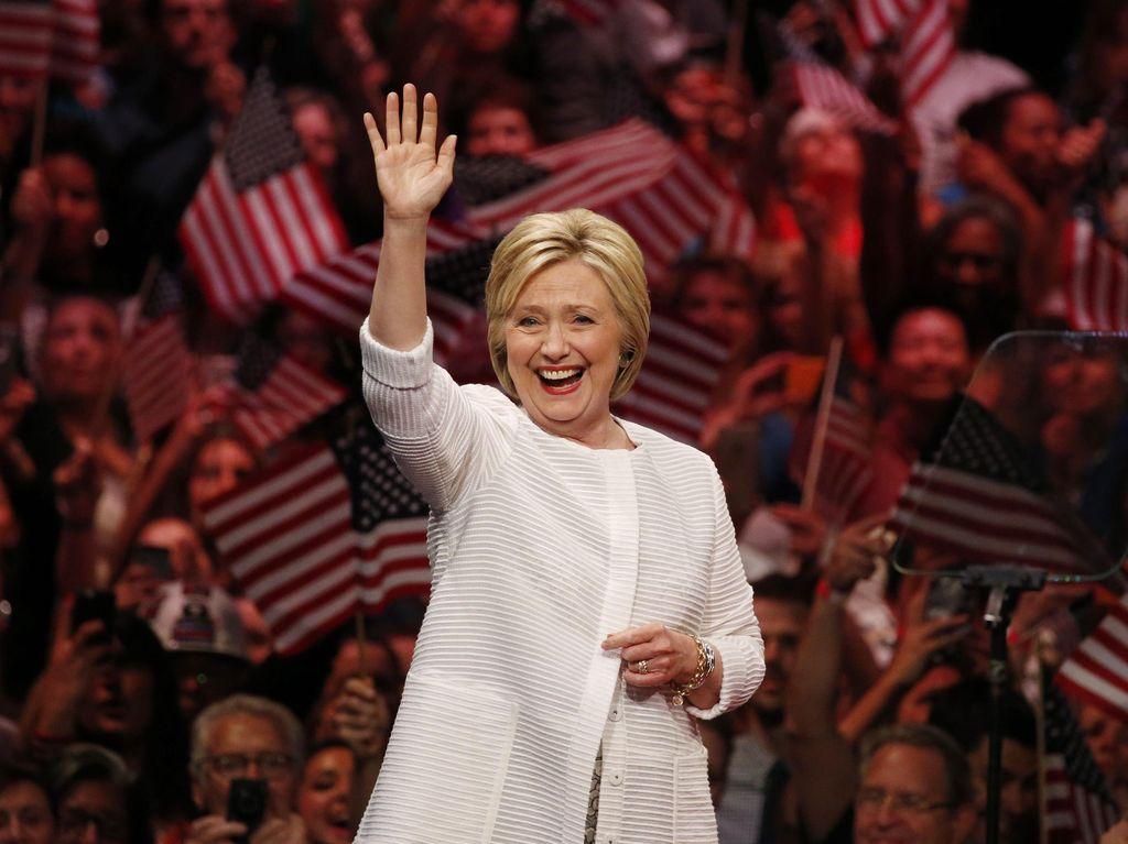 Didukung Obama Jadi Capres Demokrat, Ini Kata Hillary Clinton