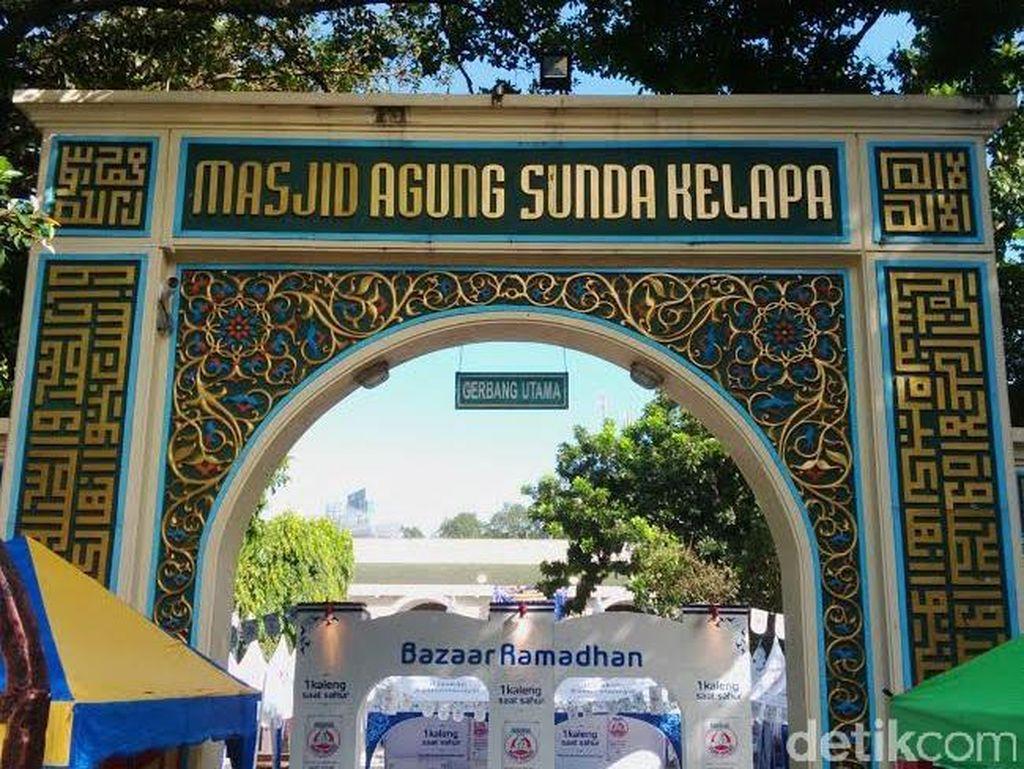 Masjid Sunda Kelapa Gelar Salat Idul Fitri Besok, Ini Imam dan Khatibnya