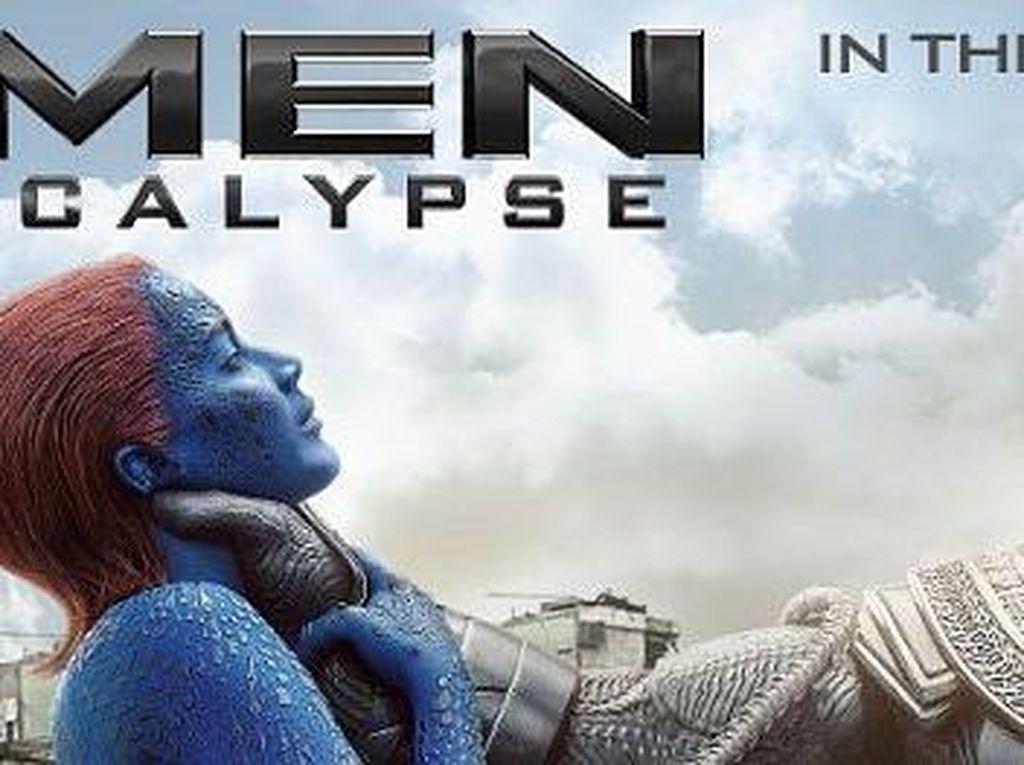 Fox Minta Maaf Soal Gambar Jennifer Lawrence Dicekik di Poster X-Men
