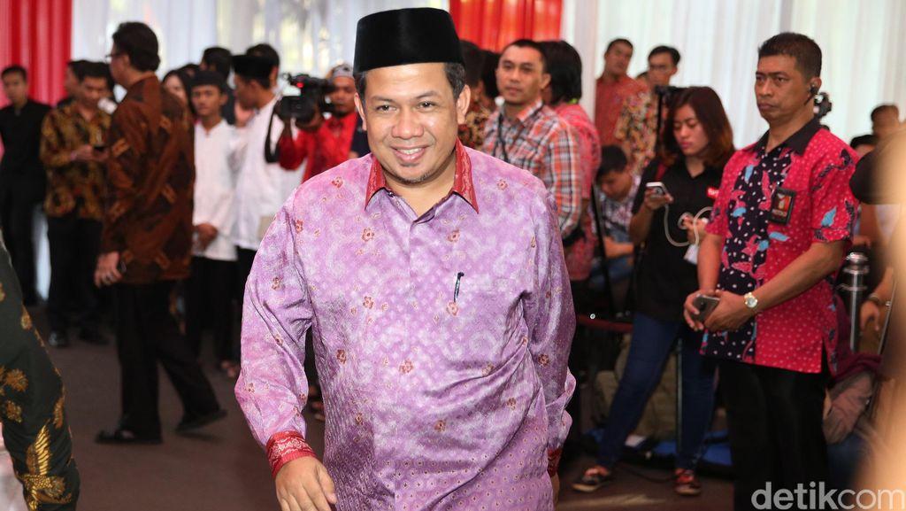 PDIP Minta Kursi Pimpinan DPR, Fahri: Tak Bisa Tiba-tiba Nongol