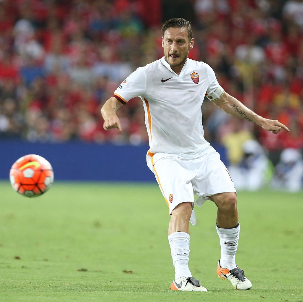 Totti Enggan Jadi Pelatih setelah Pensiun