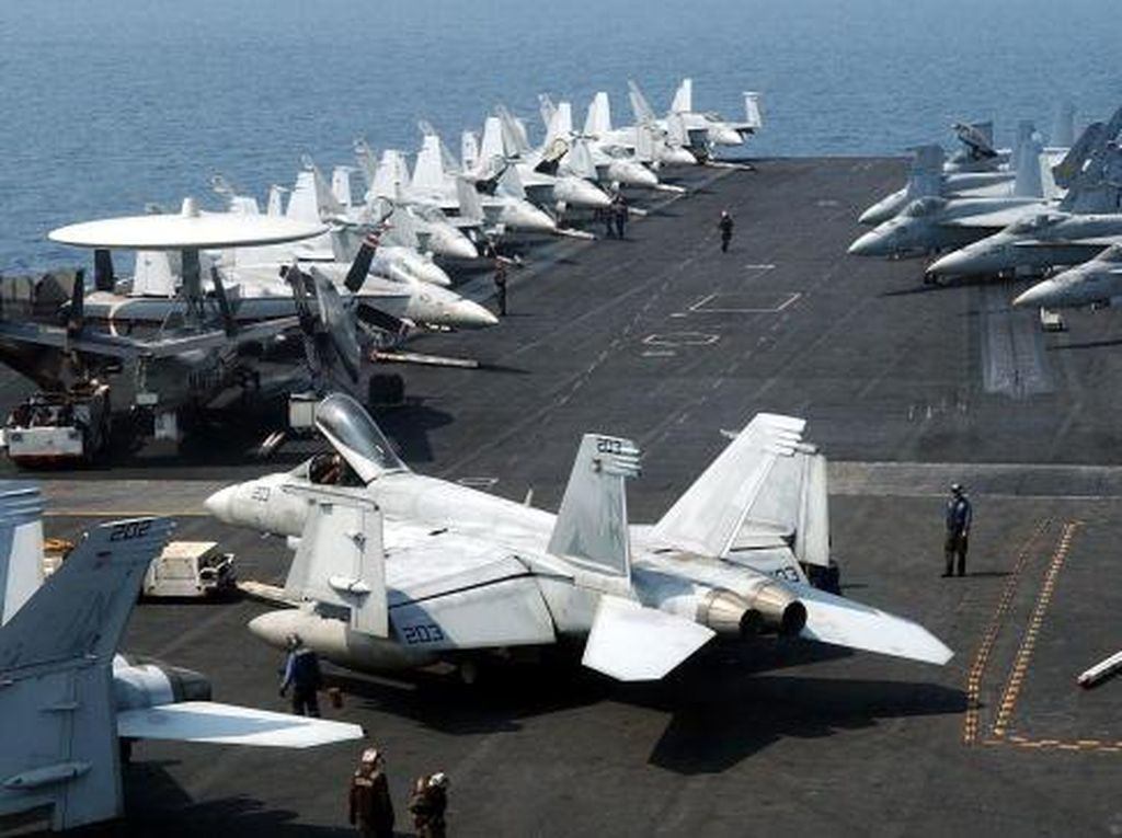 Kapal Induk AS Kembali Berlayar ke Laut China Selatan di Tengah Ketegangan