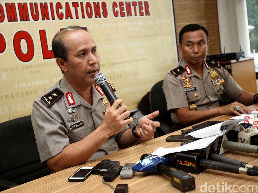 Polri Jelaskan Penangkapan Terduga Teroris di Surabaya