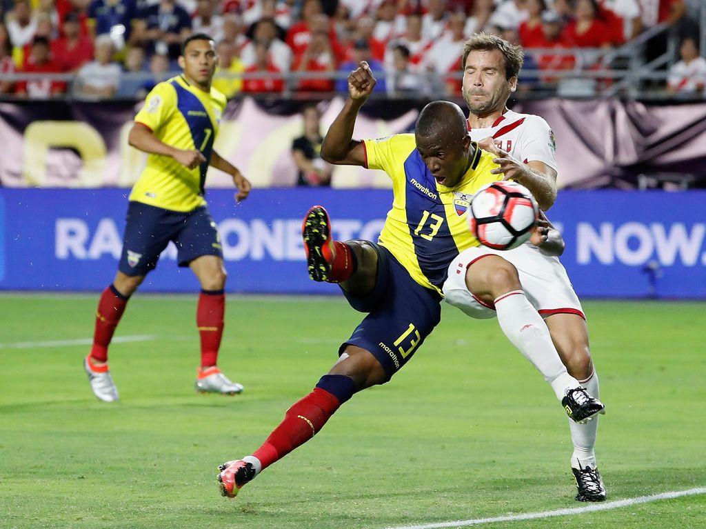 Ekuador Berimbang dengan Peru 2-2