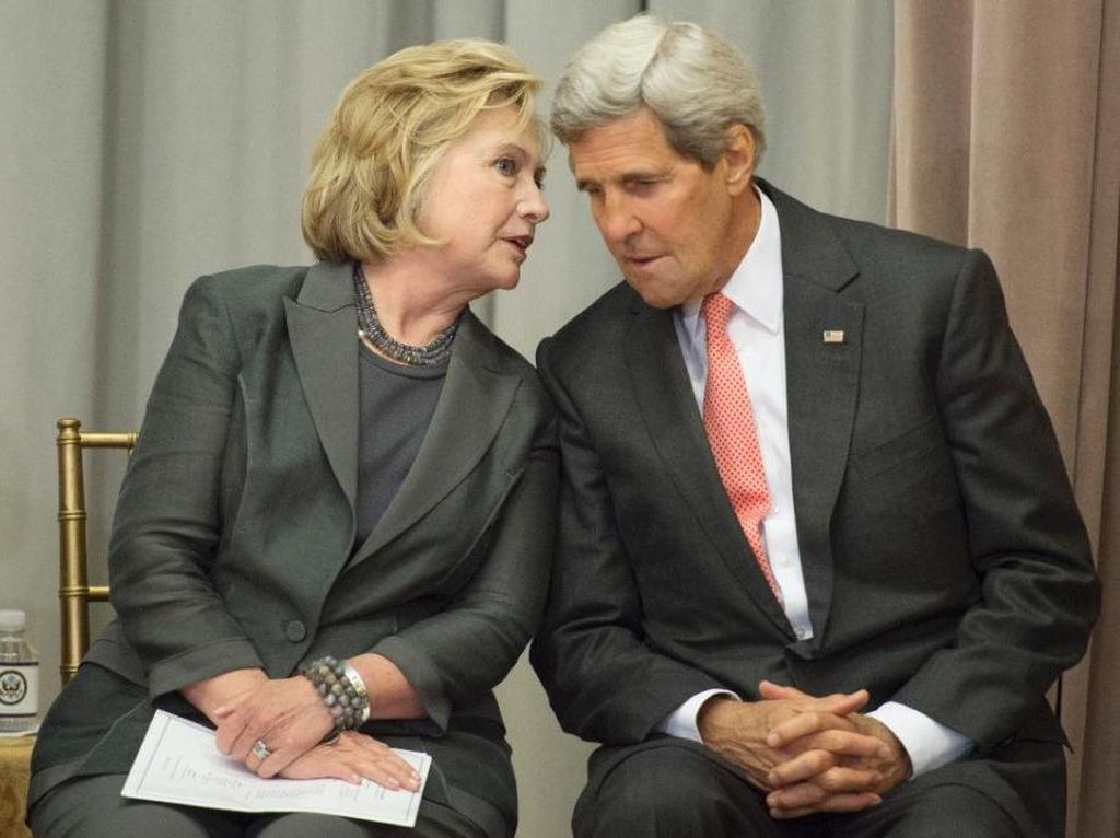 Menlu AS Sebut Hillary Clinton Akan Jadi Presiden Hebat