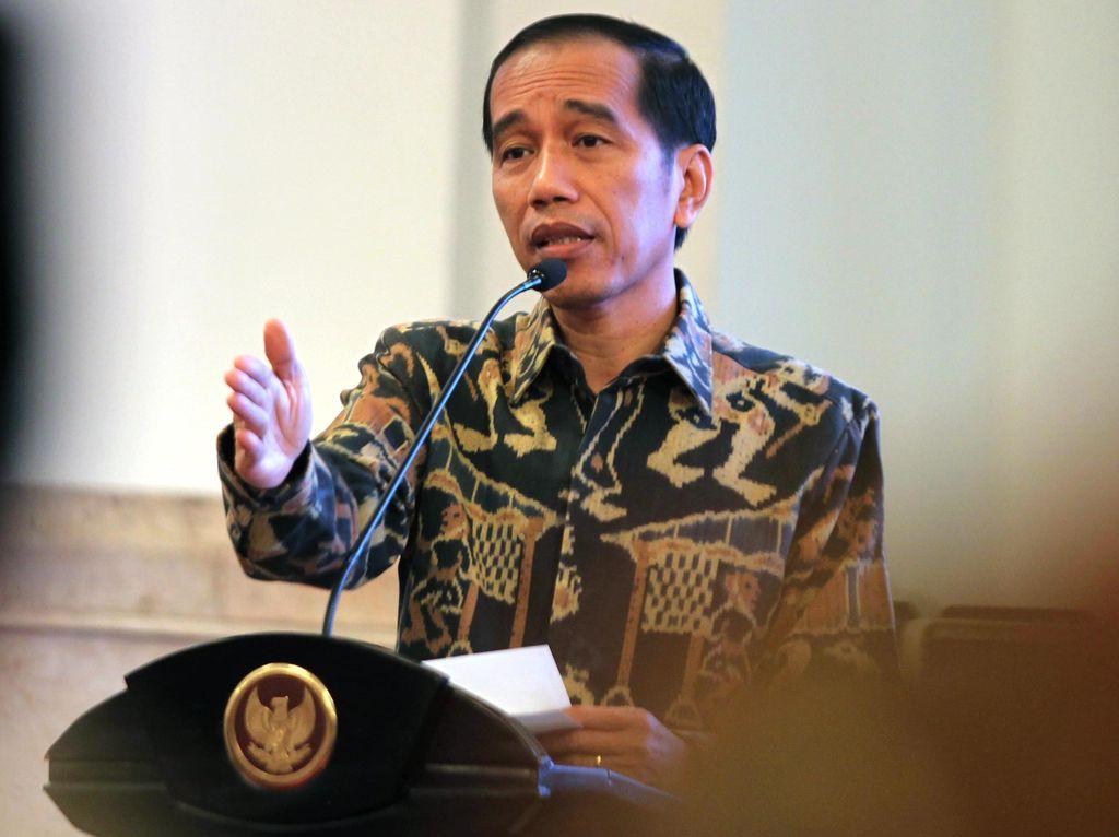 Jokowi Hadiri Sarasehan 100 Ekonom Indonesia