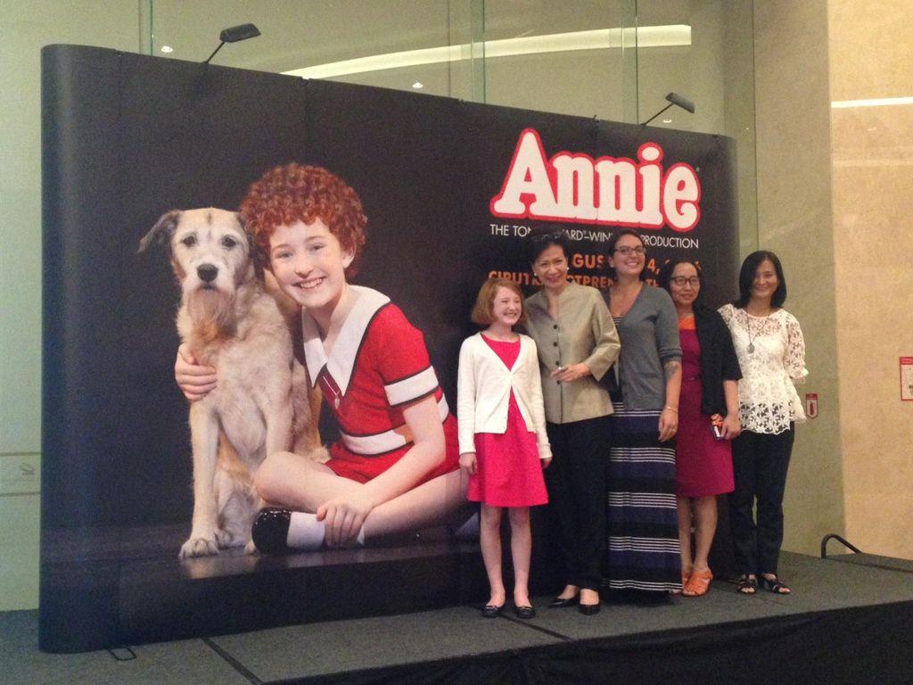 Yuk, Ikuti Kompetisi Sing It Drama Musikal Annie!