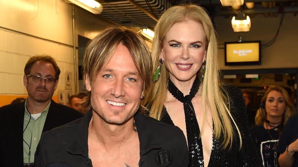 Rayakan Ultah Pernikahan ke-10, Keith Urban Face Time dengan Nicole Kidman