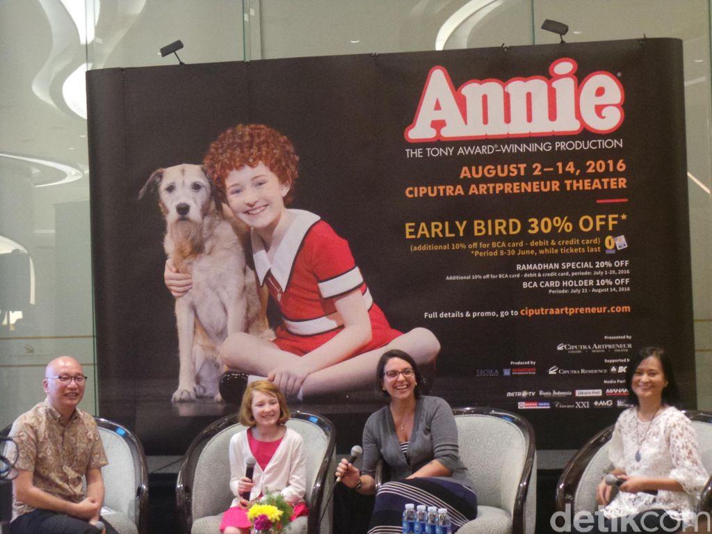 Novel Annie Segera Diluncurkan Awal Agustus