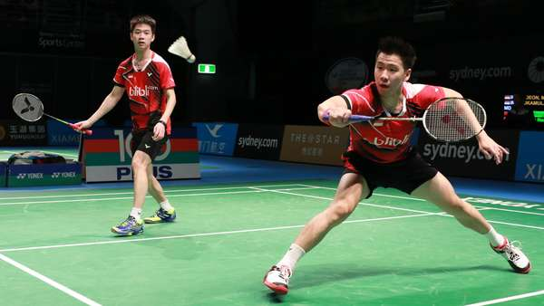 Kevin/Marcus Dikalahkan Boe/Mogensen, Indonesia Vs Denmark 2-1