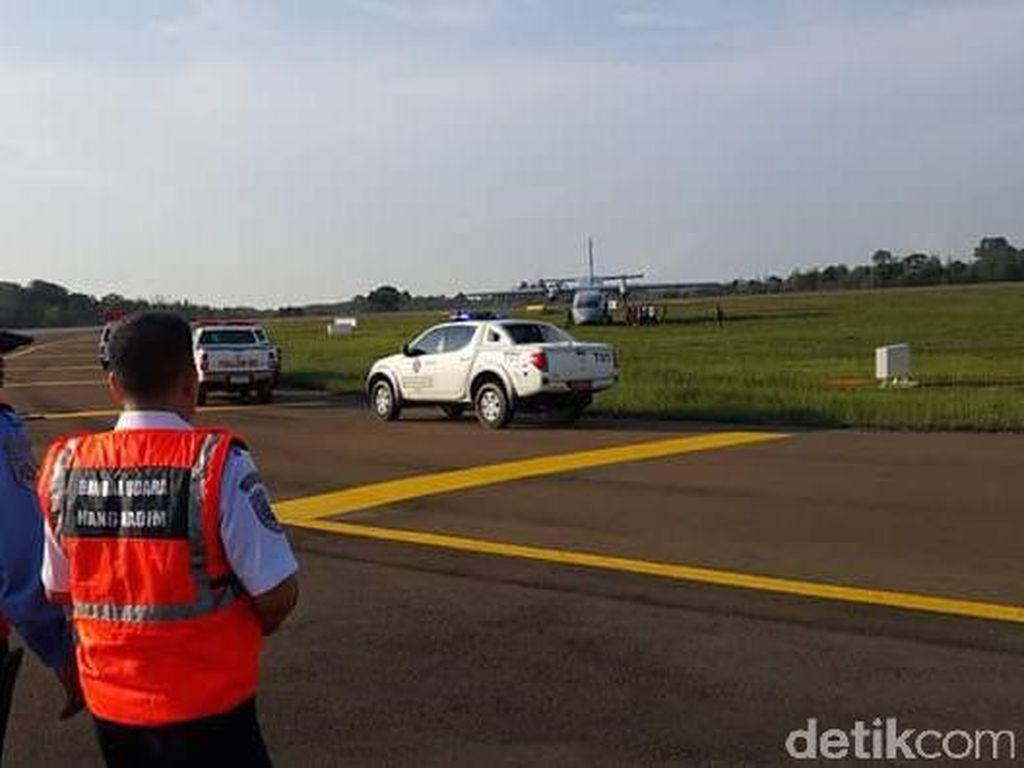 Jelang Kedatangan WNI dari Wuhan, Bandara Hang Nadim Batam Dijaga Ketat