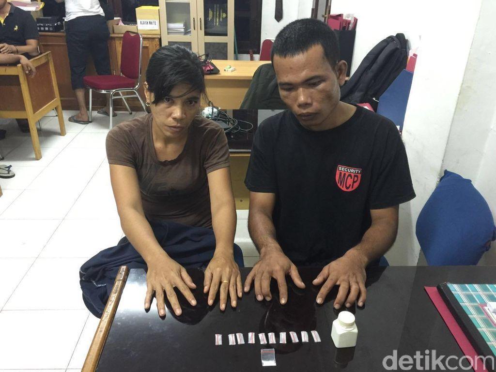 Jadi Pengedar Narkoba, Pasangan Suami Istri ini Ditangkap Polisi di Riau