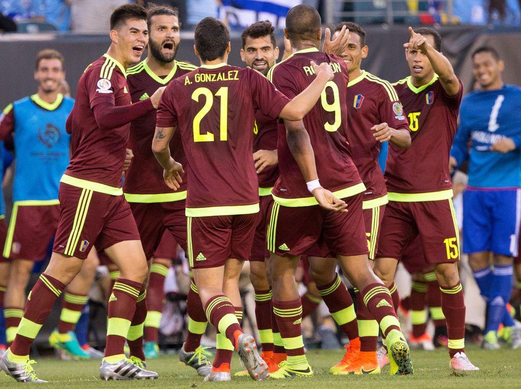 Venezuela dan Meksiko Lolos ke Perempatfinal