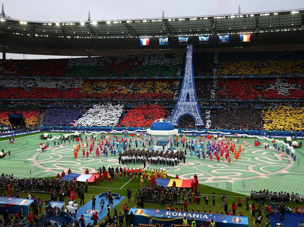Kemeriahan Pesta Pembukaan Piala Eropa 2016