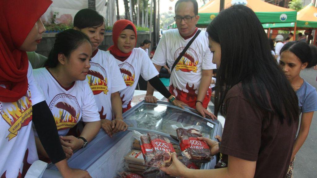 Bazaar Daging di CFD