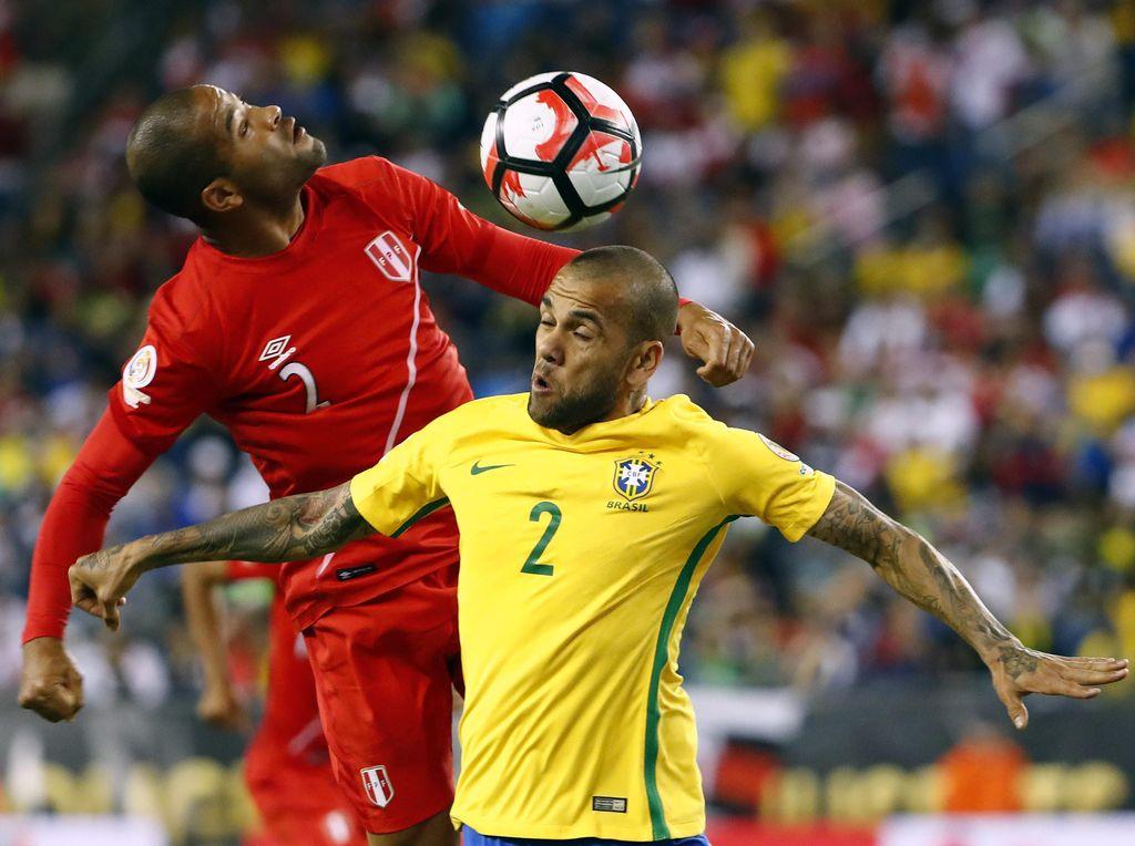 Brasil Tersingkir oleh Gol Kontroversial Peru