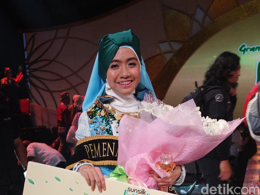Denta, Juara 1 Sunsilk Hijab Hunt 2016 Meriahkan Pesona Ramadan di NTB