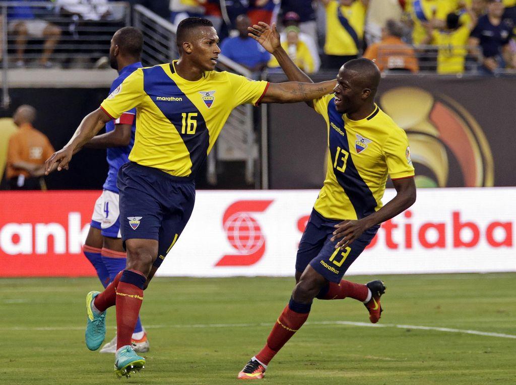 Libas Haiti, Ekuador Melangkah ke Perempatfinal