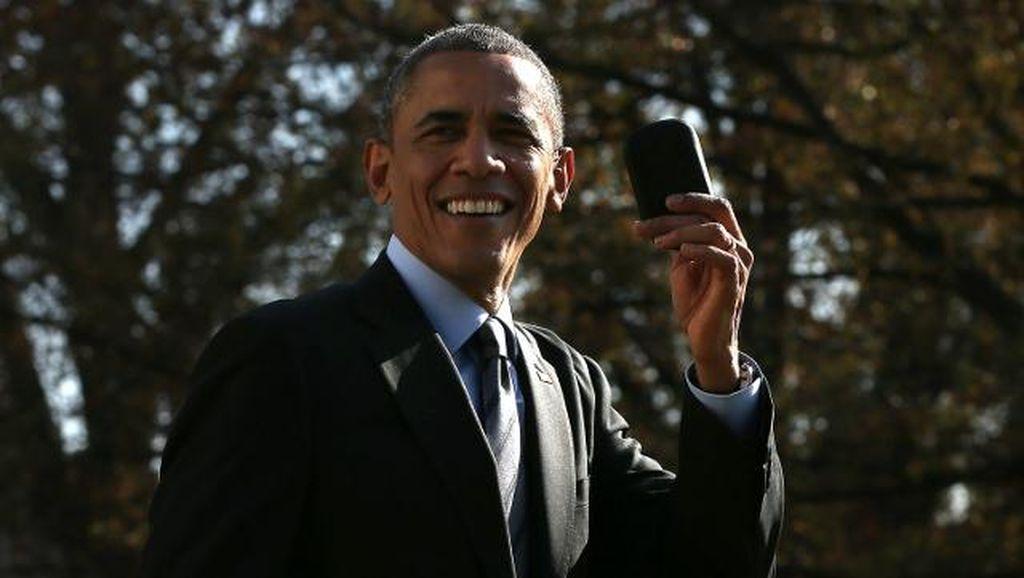 Kenangan Obama dengan BlackBerry