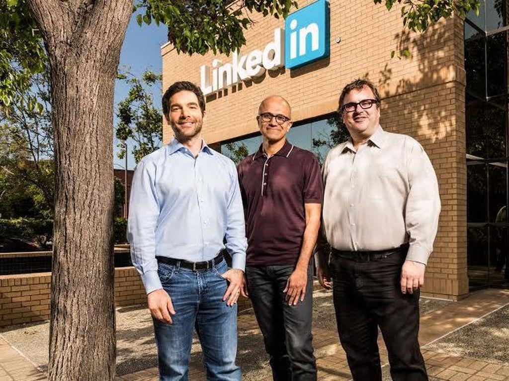 LinkedIn Dibeli Microsoft Saat Lagi Murah-murahnya