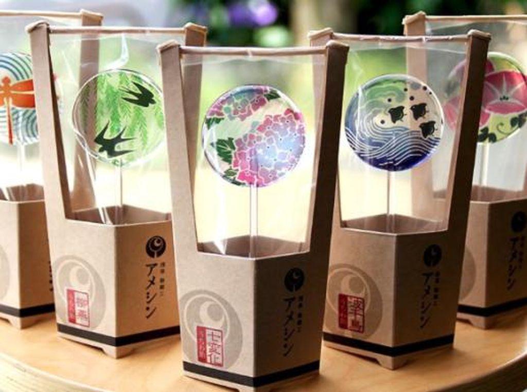 Wah, Ada Lolipop Cantik dengan Ukiran Seni Amezaiku Jepang!